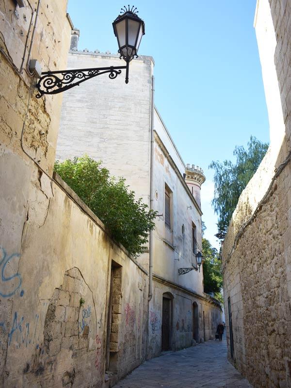 Una vietta di Lecce