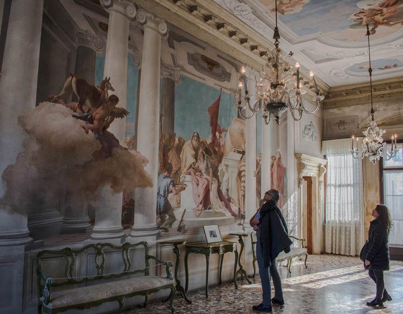 Gli affreschi del Tiepolo a Villa Valmarana