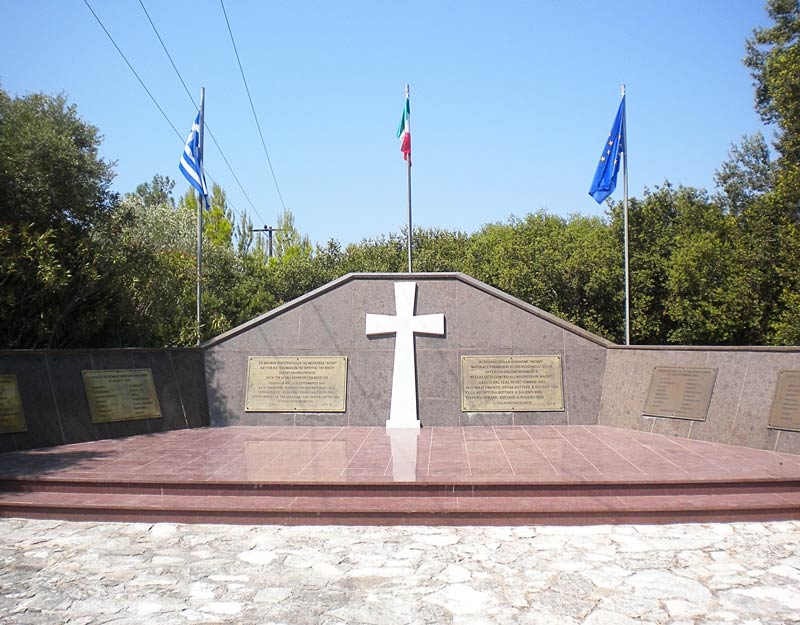 Il monumento alla Divisione Acqui ad Argostoli