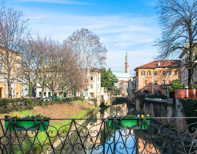 Fiori in centro a Vicenza