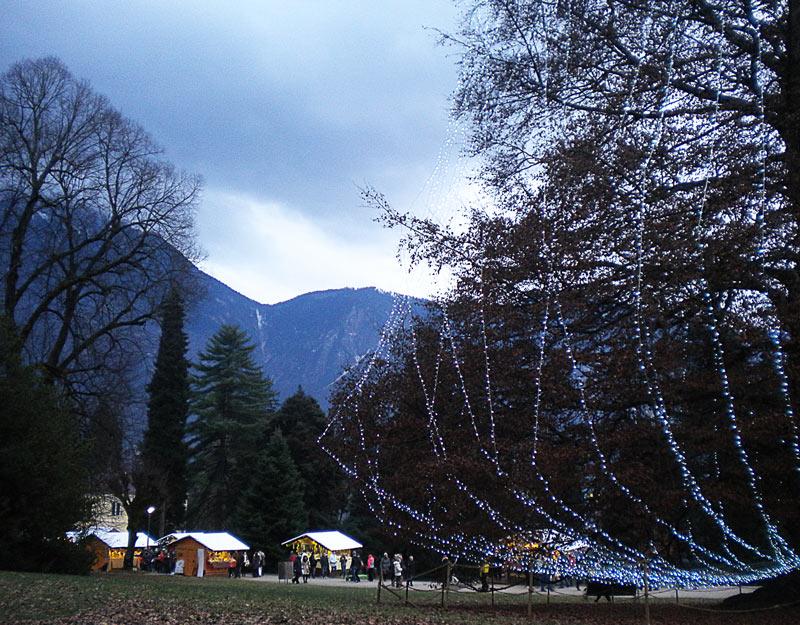 Parco degli Asburgo a Levico Terme