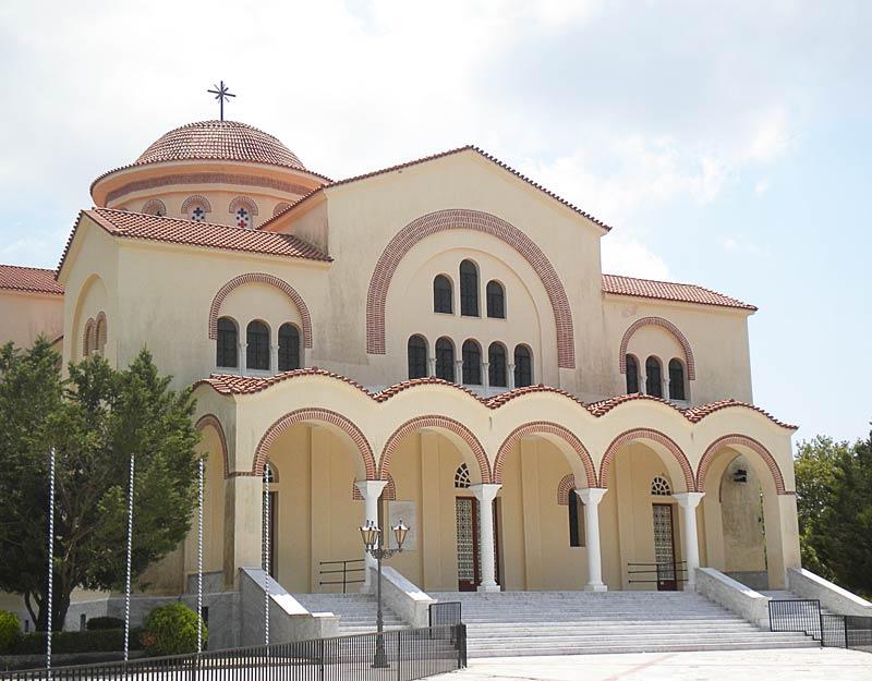 Il monastero di Agios Gerasimos a Cefalonia