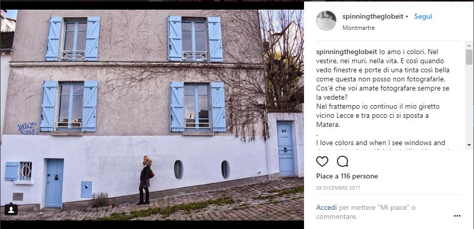 Porte e finestre a Montmartre