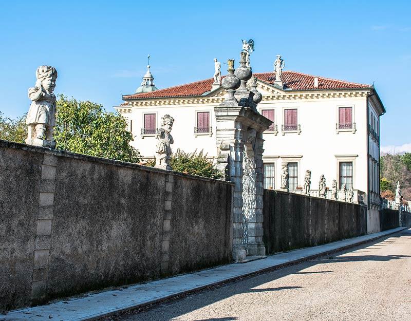 I nani di Villa Valmarana a Vicenza