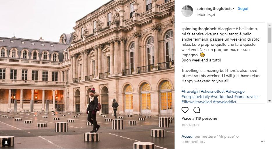 Le colonne di Buren del Palais Royal di Parigi