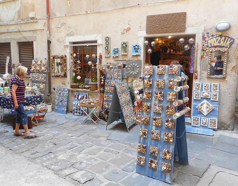 Nefozio di conchiglie a Pirano