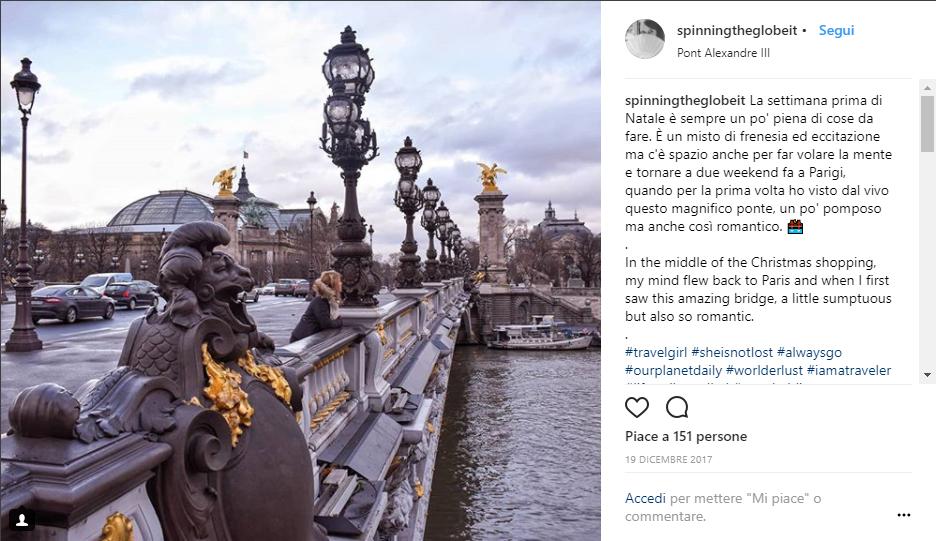 Ponte Alexandre III a Parigi