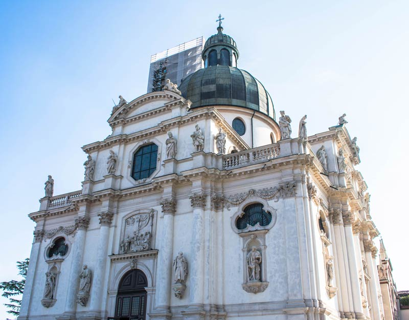 Il santuario di Monte Berico a Vicenza