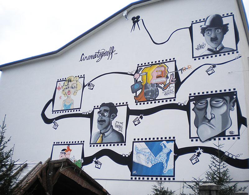 Street art a Levico Terme
