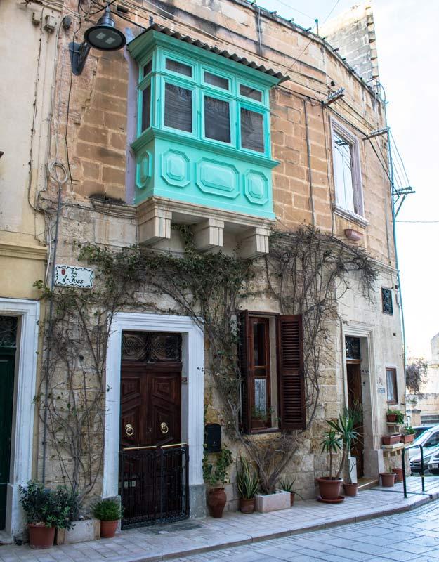 Una tipica casa maltese
