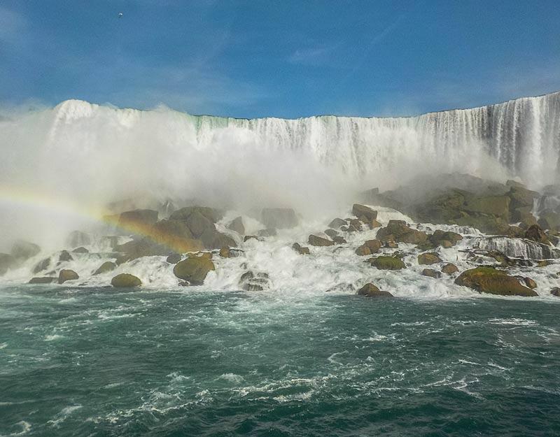 Arcobaleno alle cascate del Niagara