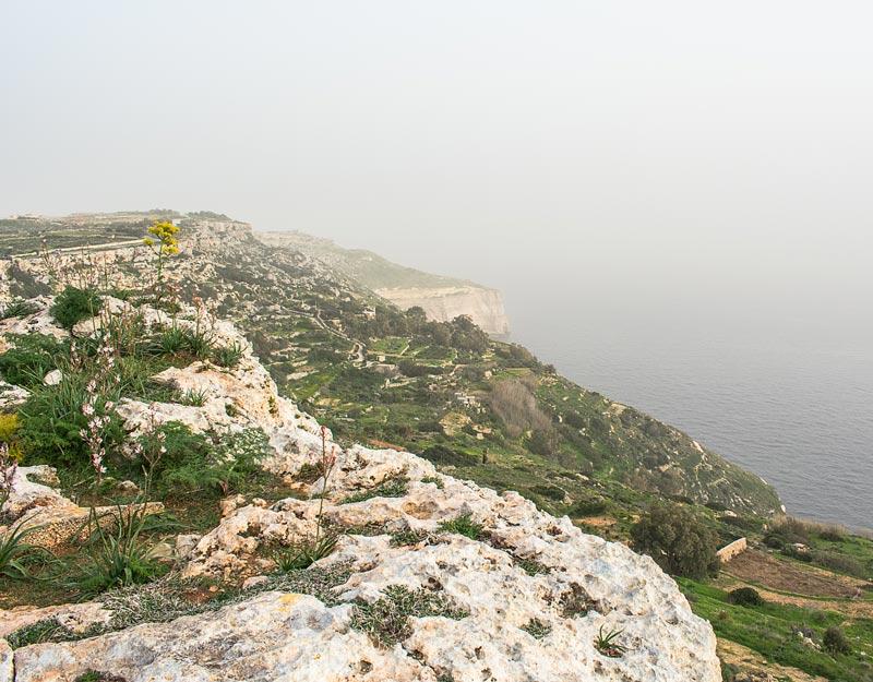 Le Dingli Cliffs a Malta