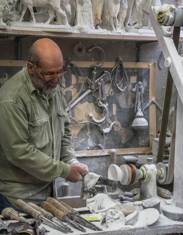 Il laboratorio Alab'arte di Volterra