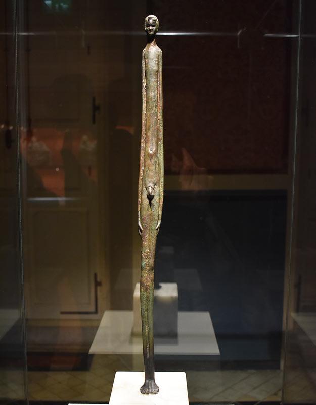 L'Ombra della Sera al museo di Volterra