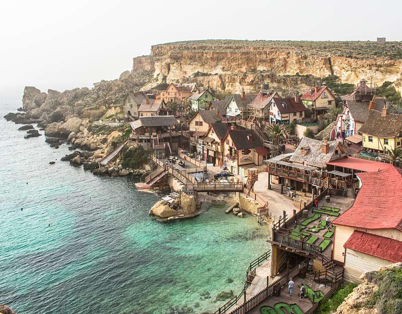 Il Popeye Village a Malta