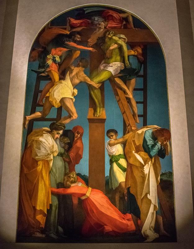 Deposizione della Croce di Rosso Fiorentino