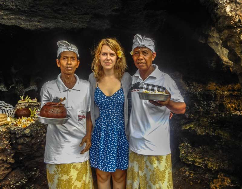 Benedizione a Bali