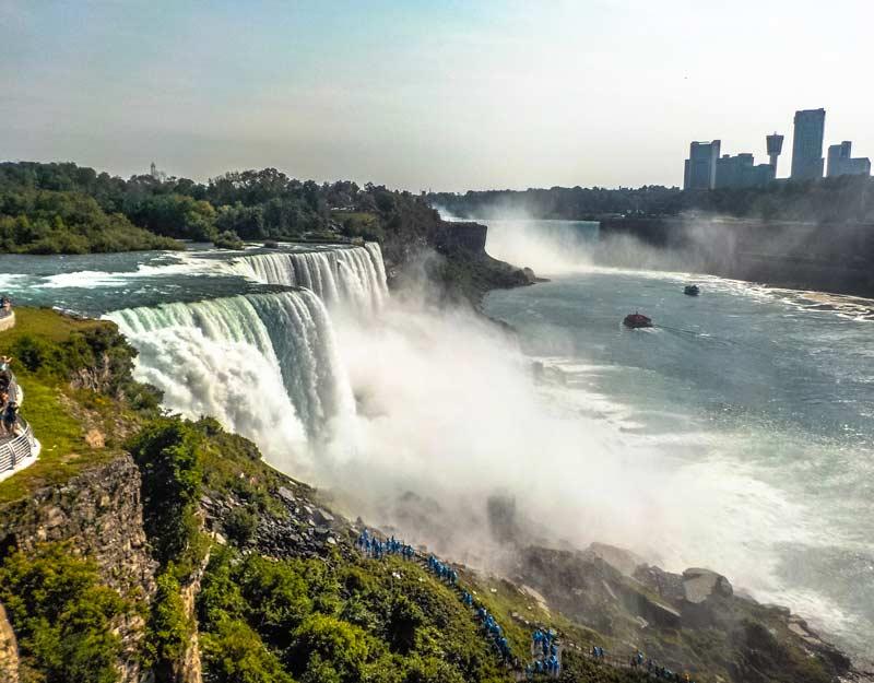 Cosa vedere in un on the road nello stato di New York: cascate del Niagara