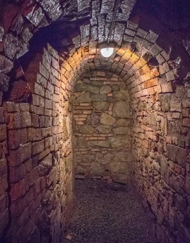 Corridoio delle miniere di Montecatini