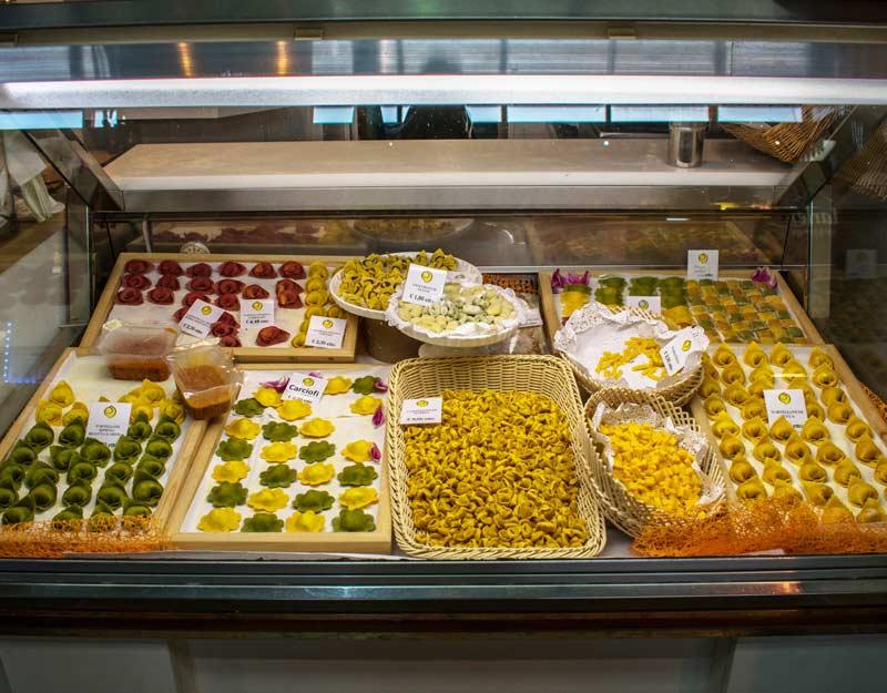 Pasta al Mercato Albinelli di Modena