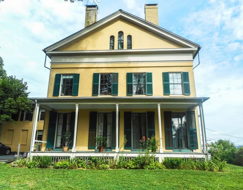 La casa-museo di Emily Dickinson a Amherst