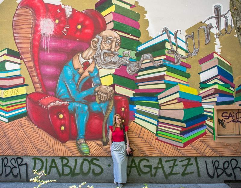 Street art a Lubiana