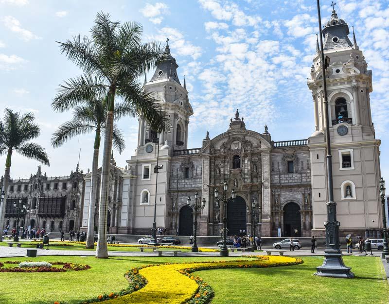 La cattedrale di Lima