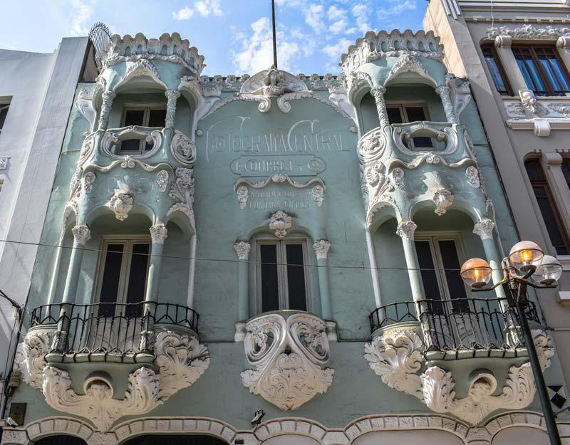 Palazzo nel centro di Lima