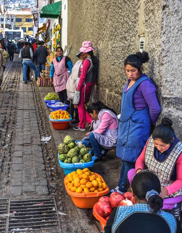 Coma mangiare in Perù: frutta