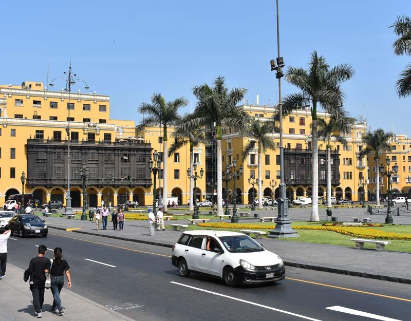 Plaza de Armas a Lima