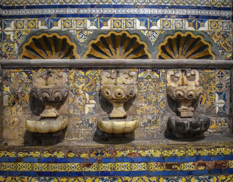 Un particolare della cattedrale di Lima