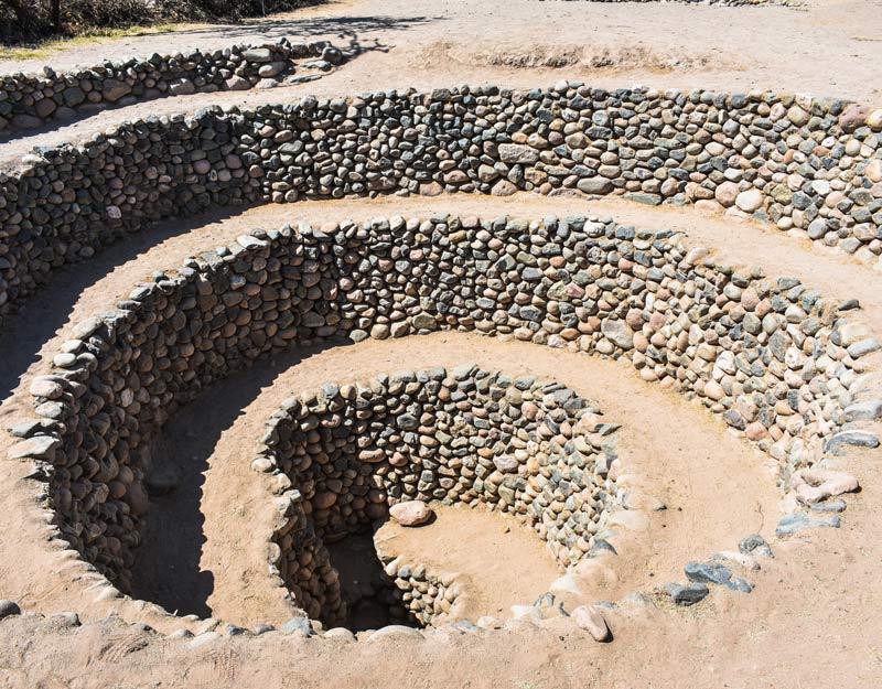 L'acquedotto a spirale di Nazca