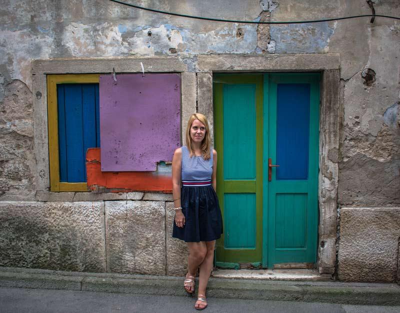 Colori a Dignano in Istria