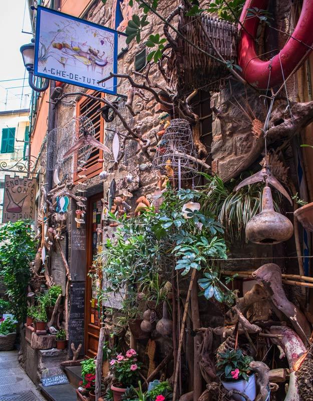 Trattorie di Corniglia nelle Cinque Terre
