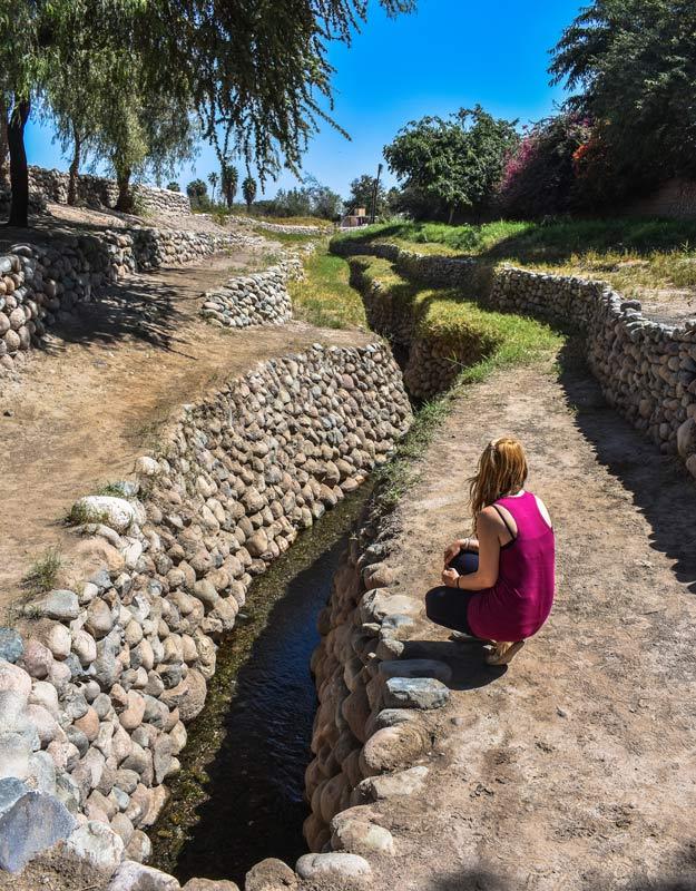 Cosa vedere a Nazca: acquedotto di Cantalloc