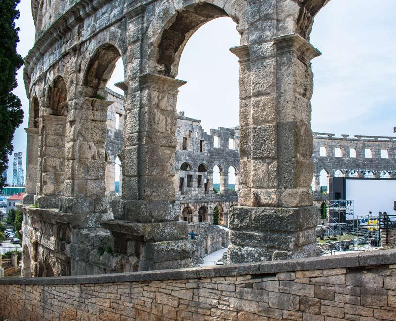 Cosa vedere a Pola: l'Arena
