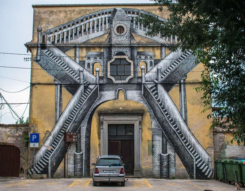 Murales a Dignano, Istria