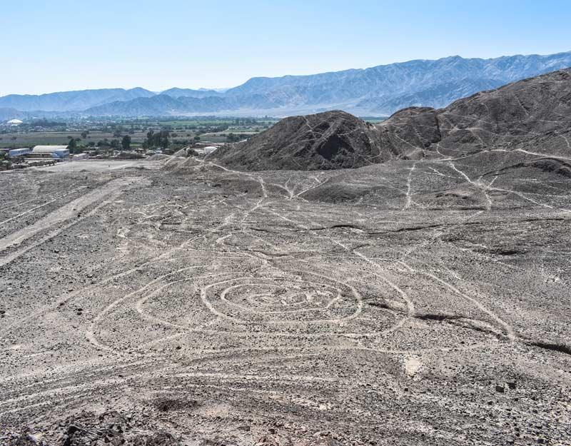 Le linee di El Telar a Nazca