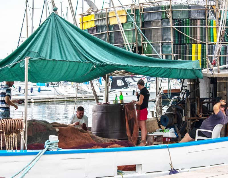 Pescatori a Pola