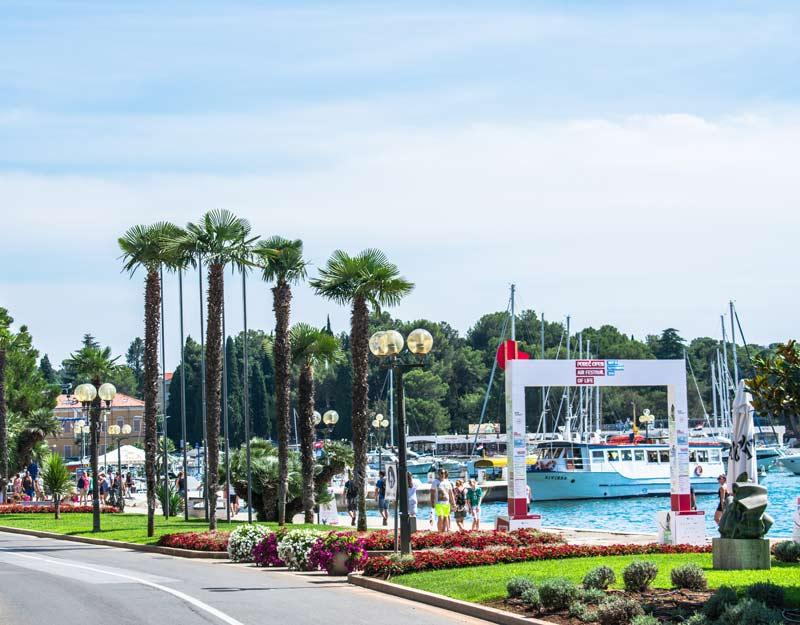 Il porto di Parenzo