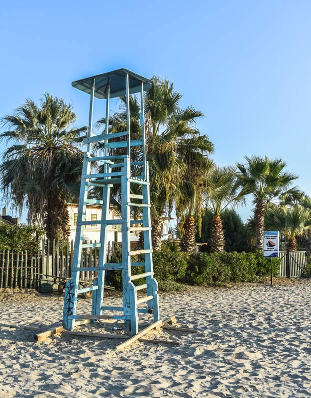 La spiaggia di Paracas