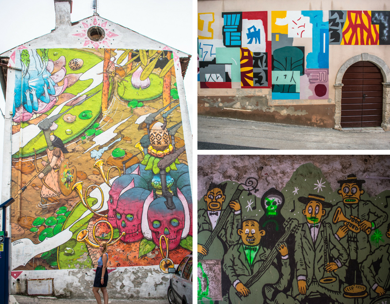 La street art di Dignano
