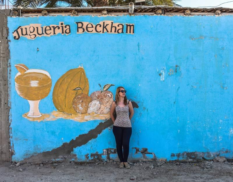 Street art a Paracas