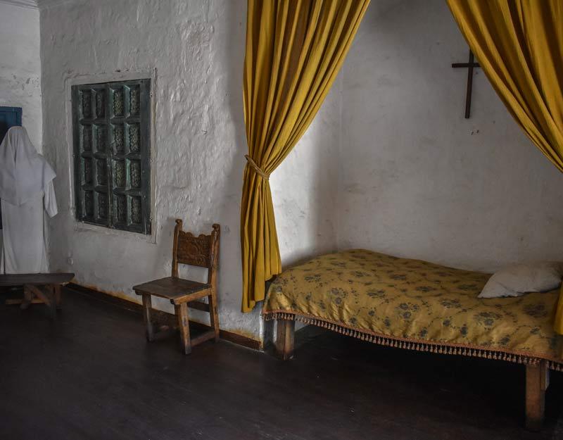 La cella di una monaca del monastero di Santa Catalina