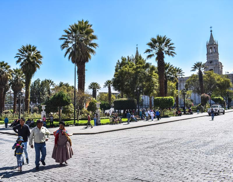 Plaza de Armas ad Arequipa