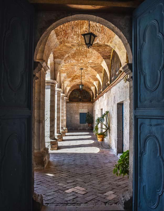Uno scorcio del Monastero di Santa Catalina