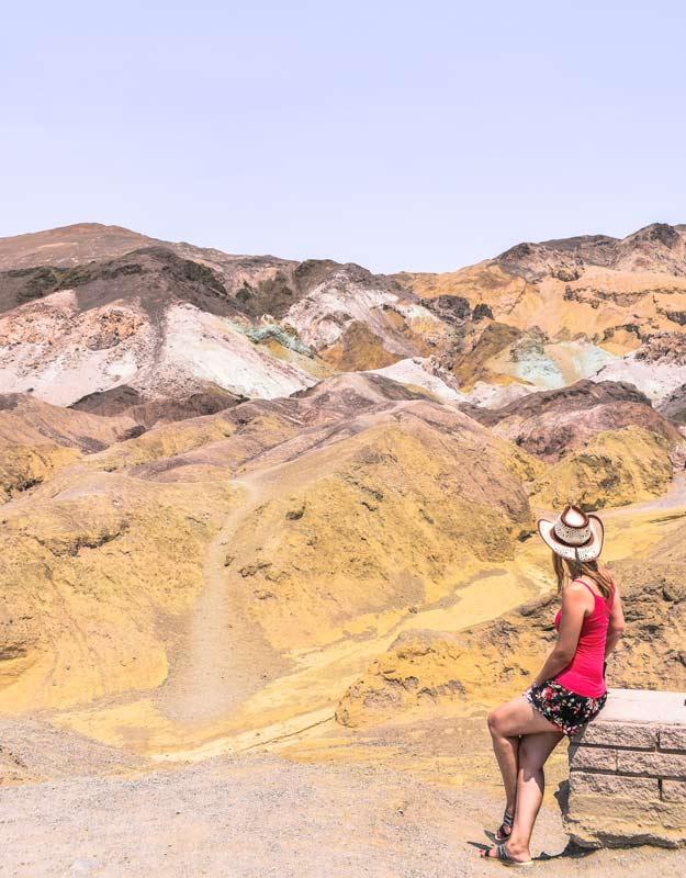 Artist's Palette nella Valle della Morte