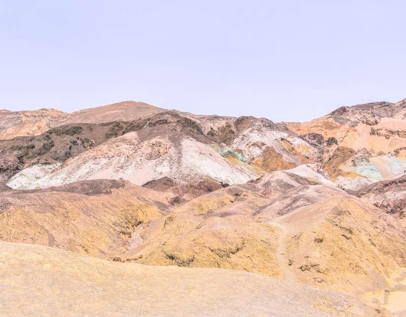 Artist's Palette nella Death Valley