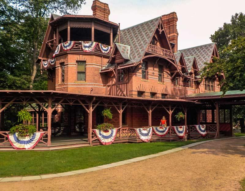 Cosa vedere ad Hartford: la casa museo di Mark Twain