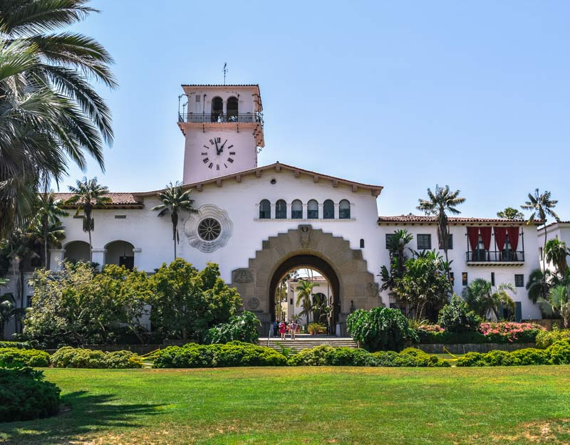 La County Courthouse di Santa Barbara